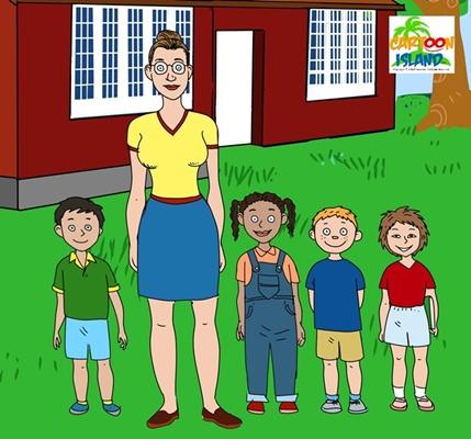 cartoon-island-school-children2